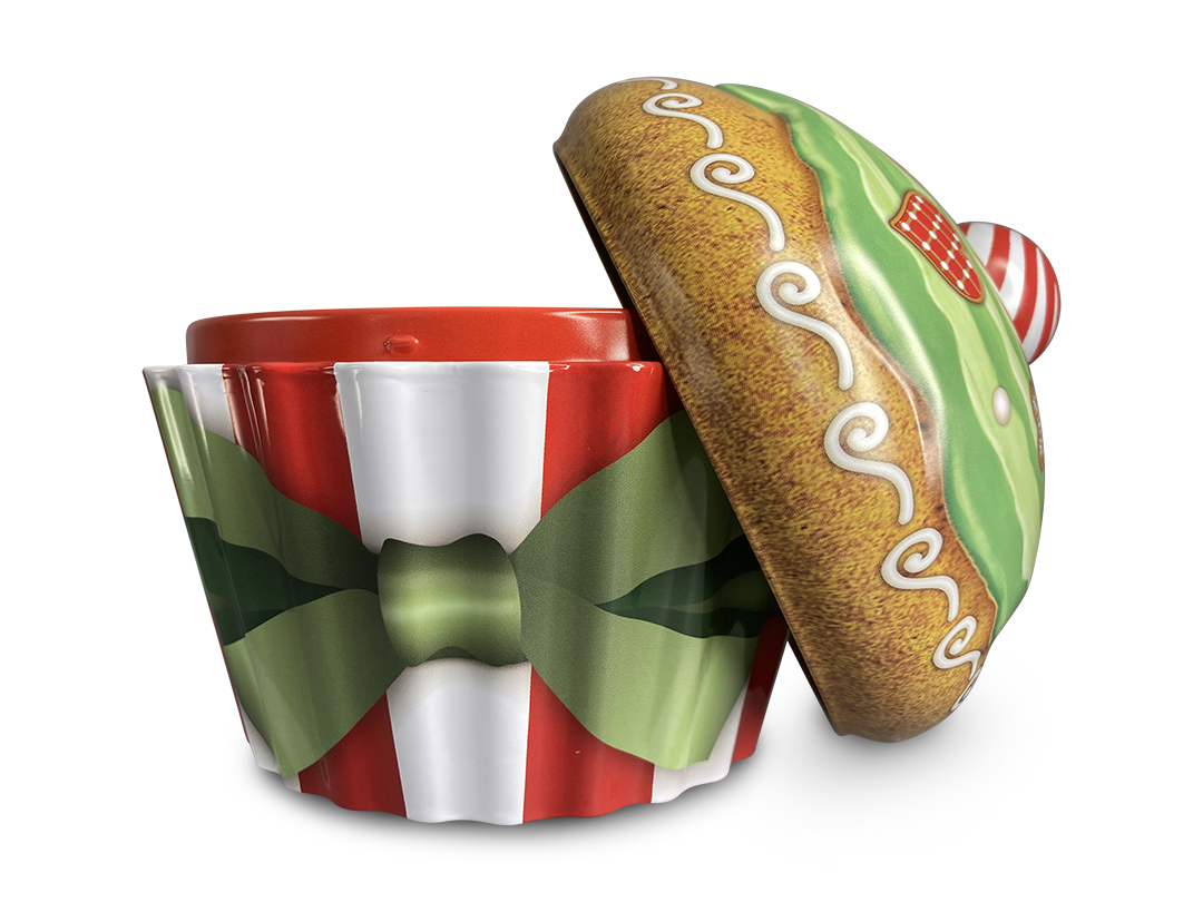 10207 Weihnachts Cupcake Swirl
