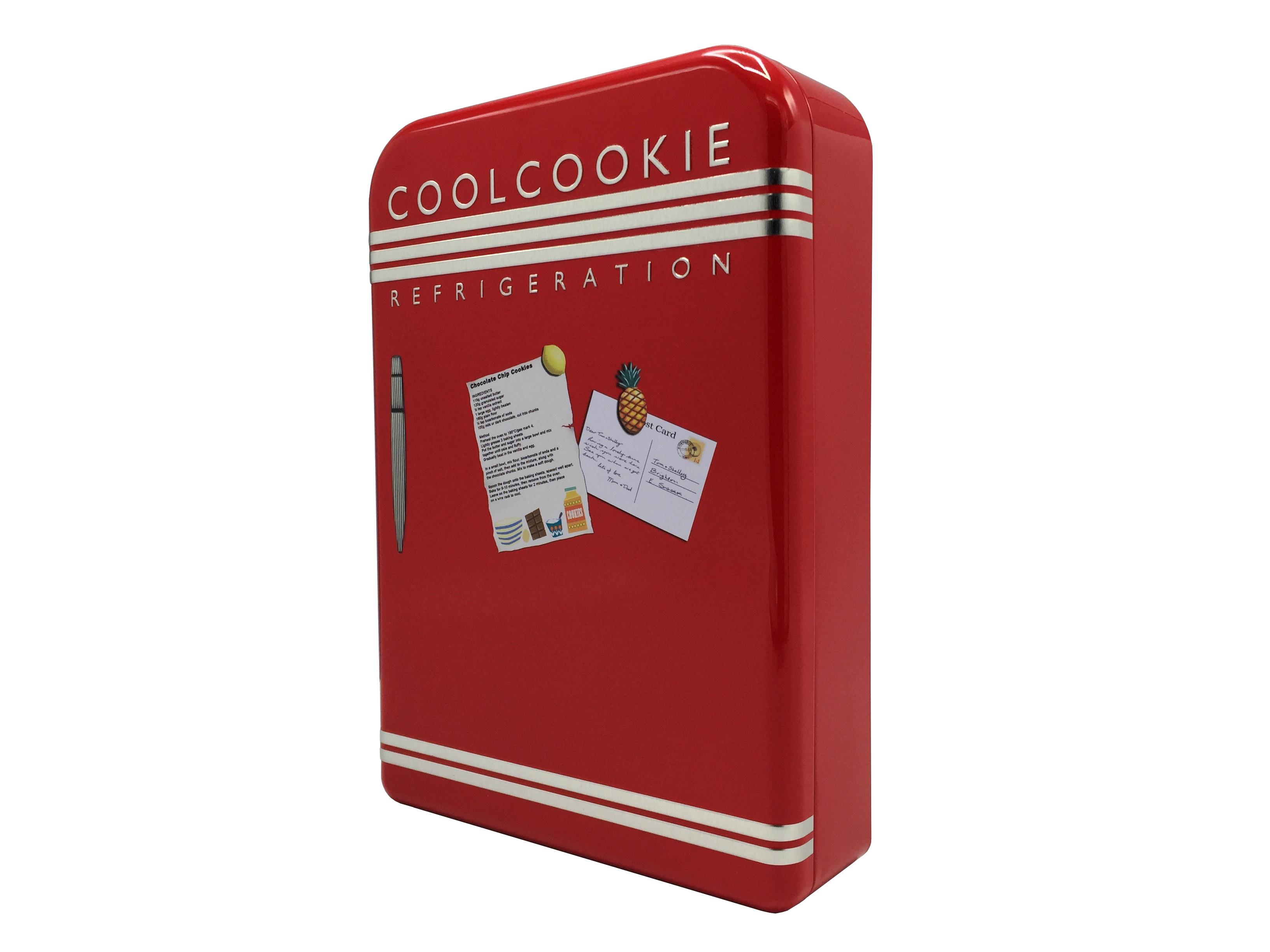10710 Kühlschrank rot