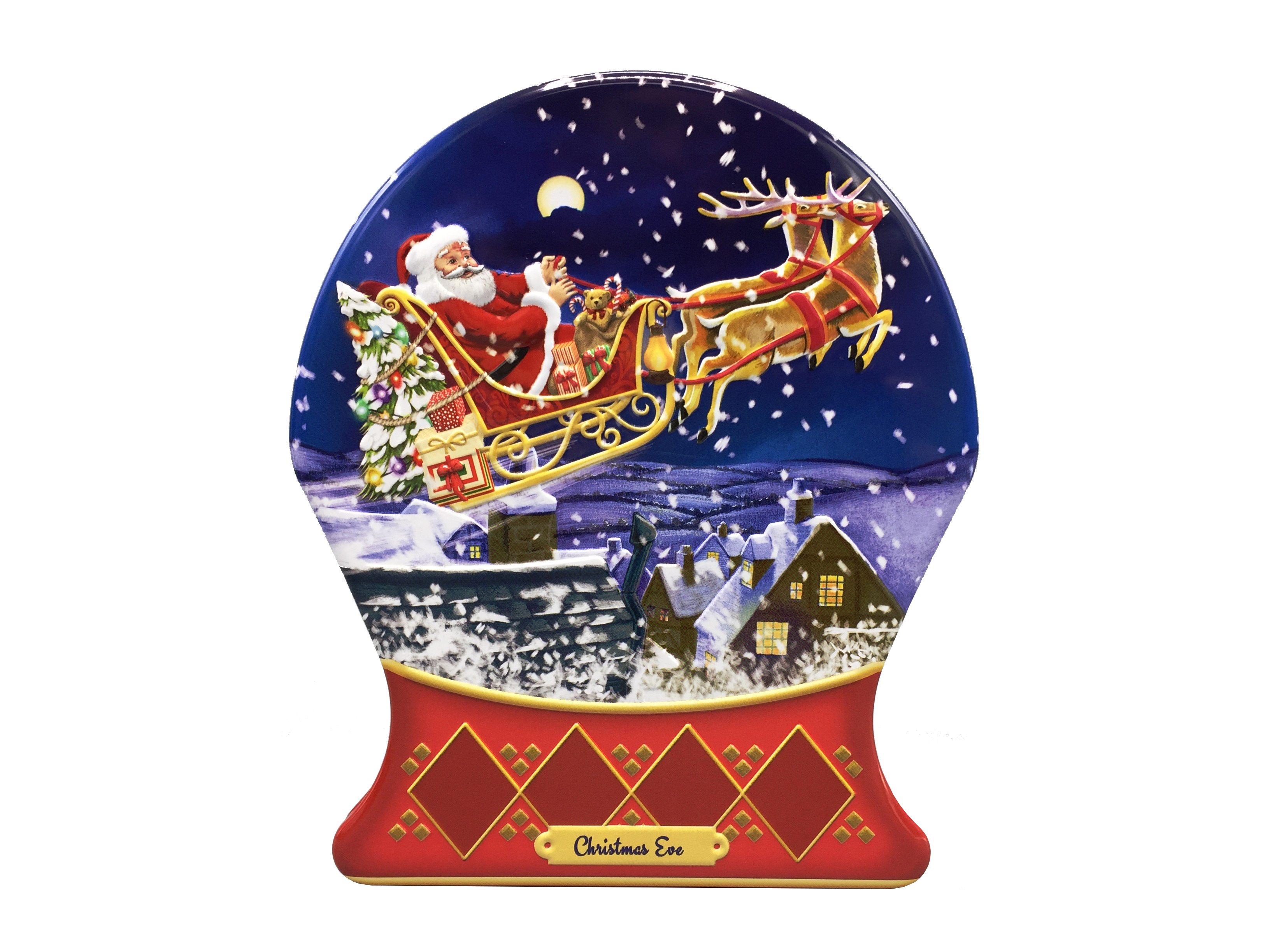 10441 Schneekugel Christmas Eve