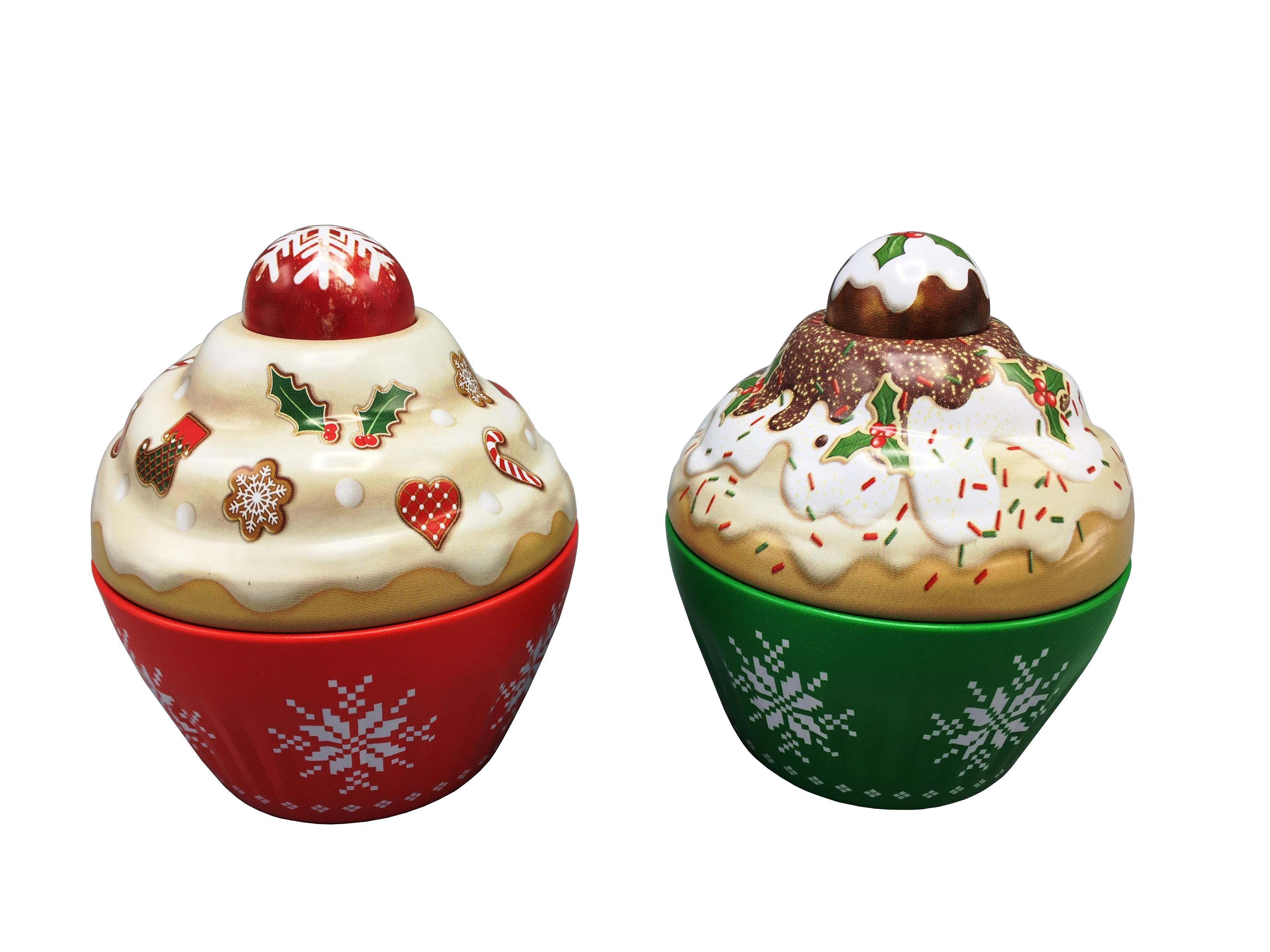 10215 Kleiner Cupcake Weihnachten