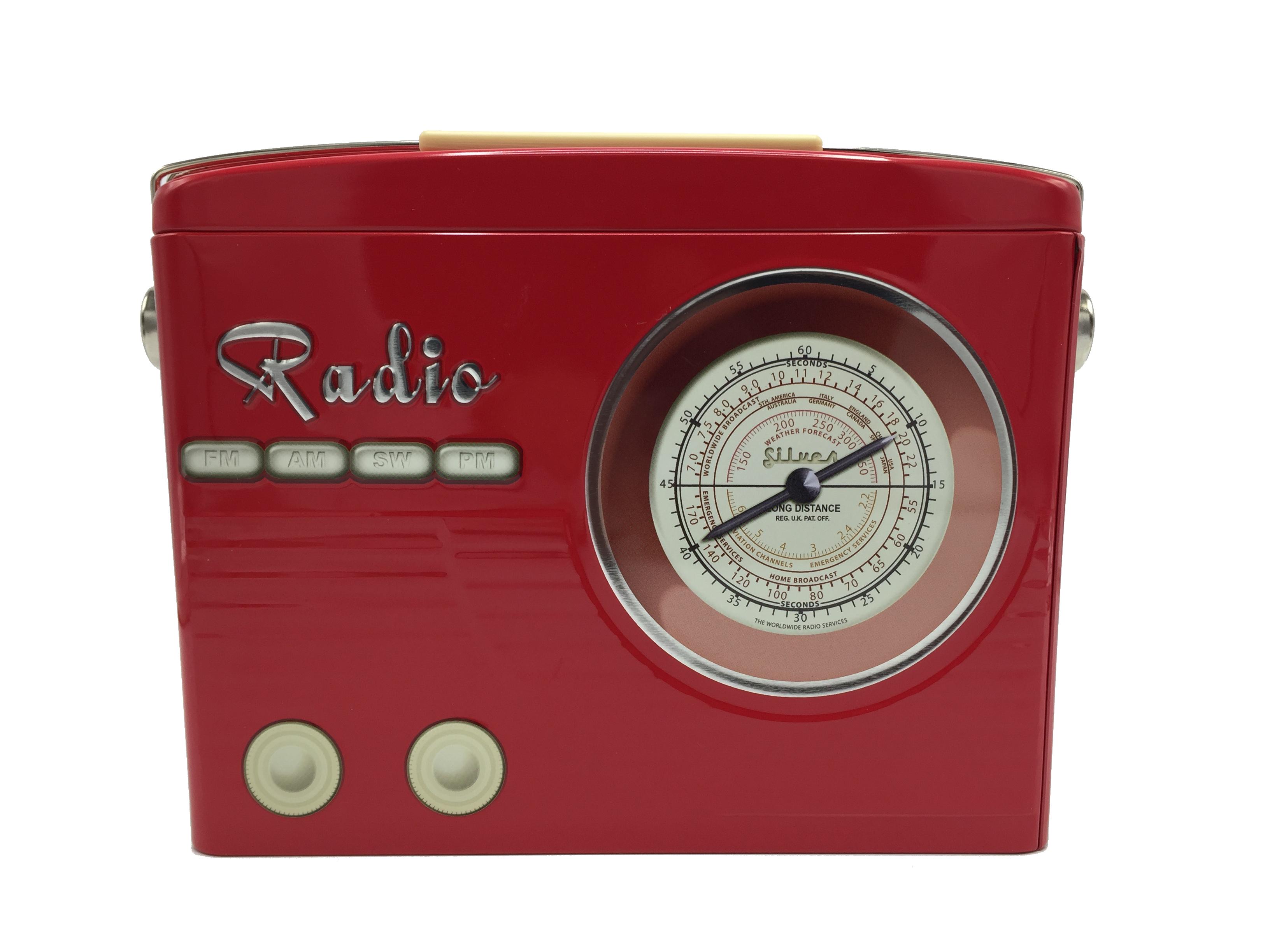 10400 Radio tailliert rot