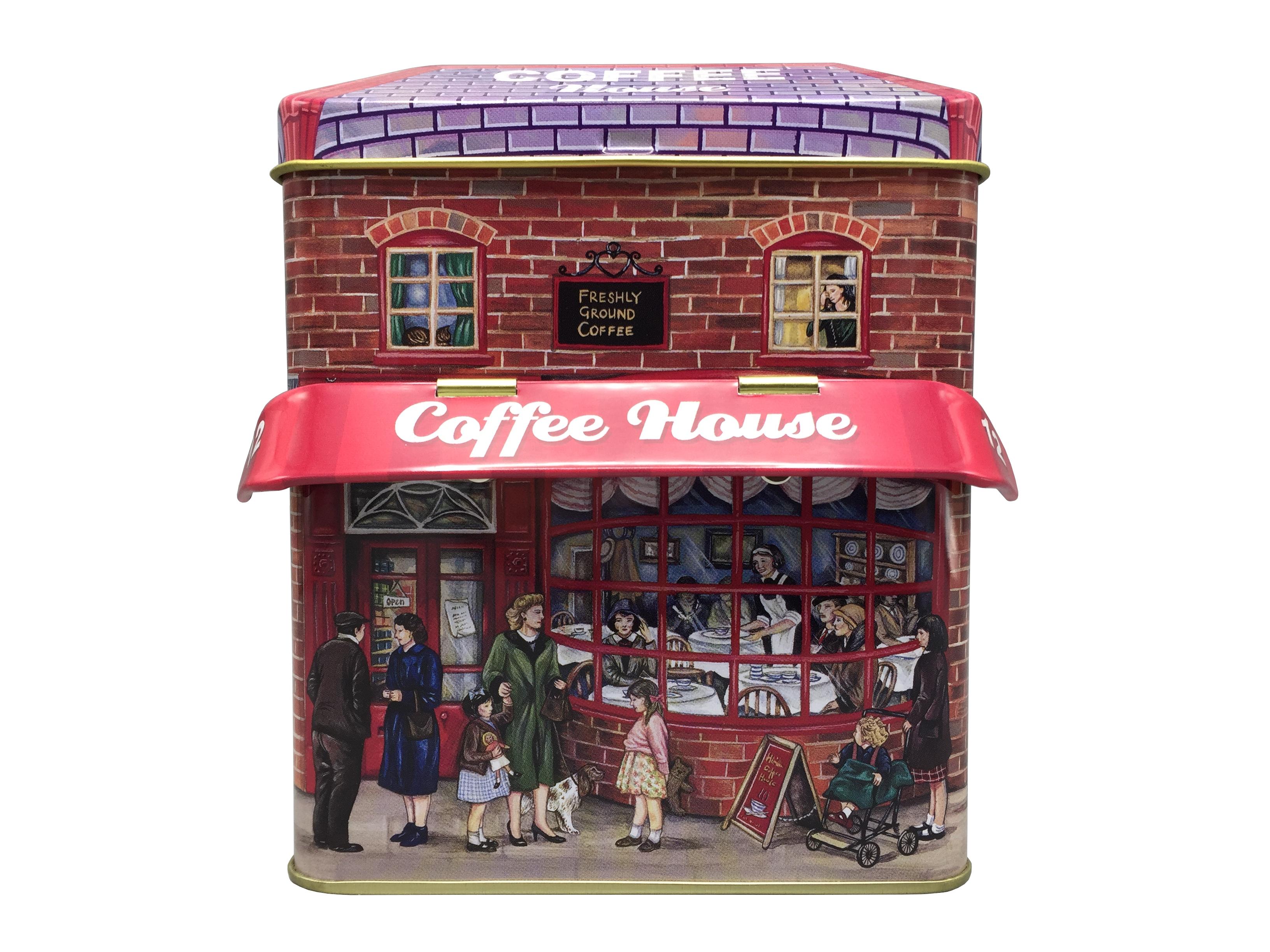 10611 Kleines Haus Coffee mit Vordach